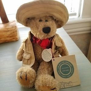 "Vintage Boyd's Bear Stuffed Bear ""Thayer"""